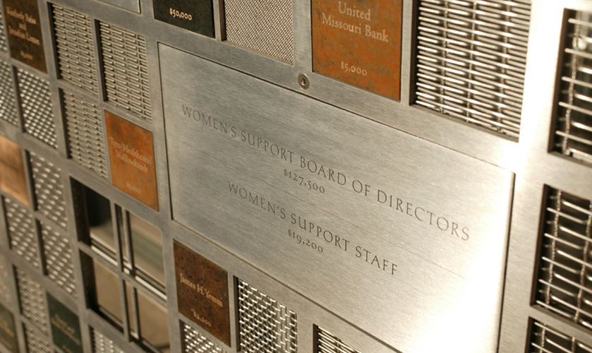 Women's Support & Community Services Donor Wall